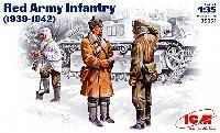 ICM1/35 ミリタリービークル・フィギュアソ連兵 3体 冬服 (1939-42)