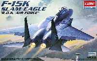 アカデミー 1/48 Scale Aircrafts F-15K スラムイーグル R.O.K. AIR FORCE