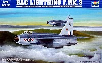 トランペッター1/72 エアクラフト プラモデルBAC ライトニング F.MK.3