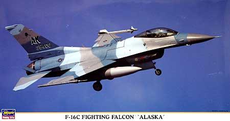 F-16C ファイティング ファルコン アラスカプラモデル(ハセガワ1/48 飛行機 限定生産No.09869)商品画像