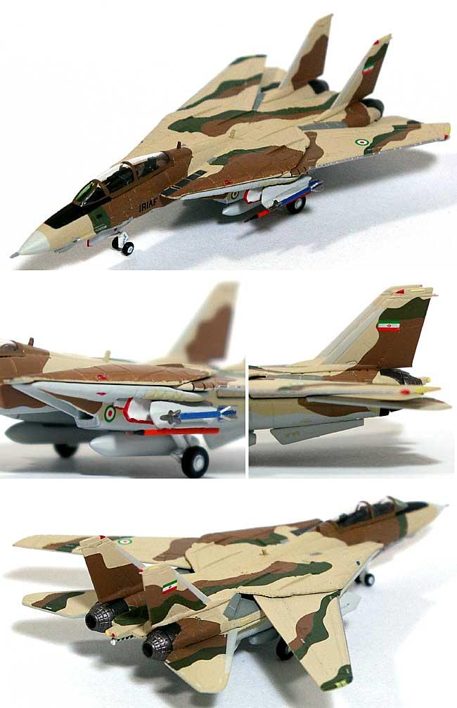 F-14A トムキャット 海軍航空兵器学校 NAS トップガン IRANIAN IRIAF スキーム ミラマーCA 1992年完成品(ホーガンウイングスM-SERIESNo.6528)商品画像_1