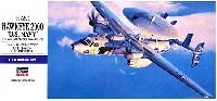 ハセガワ1/72 飛行機 EシリーズE-2C ホークアイ 2000 U.S.ネイビー