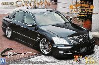 アオシマ1/24 スーパー VIP カーモードパルファム ファントム雅夢 18 クラウン ロイヤルサルーン 後期型