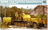 Sd.Kfrz.7/2 8tハーフトラック 3.7cm Flak43 対空機関砲搭載型 & Sd.Anhanger52 トレーラー