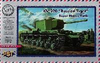 PST1/72 AFVモデルロシア KV-220/85 超重戦車 ロシアンタイガー