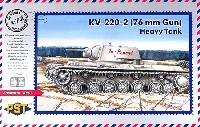 PST1/72 AFVモデルロシア KV-220/76 重戦車