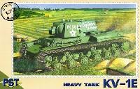 PST1/72 AFVモデルロシア KV-1E 重戦車 増加装甲型 エクラナミ