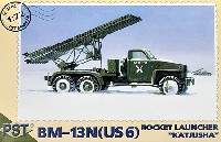 PST1/72 AFVモデルロシア BM-13N カチューシャ スチュードベイカー US6車台