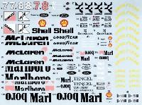 マクラーレン MP4/8 フルスポンサーデカール