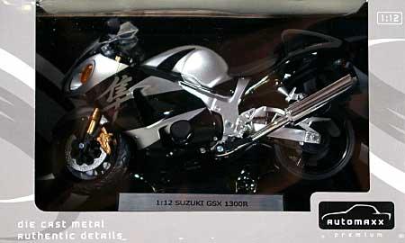 スズキ GSX1300R ハヤブサ (ブラック)完成品(アオシマ1/12 完成品バイクシリーズNo.0079928)商品画像