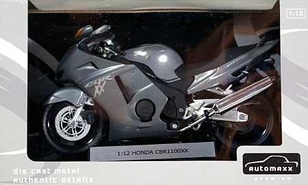 ホンダ CBR1100XX スーパーブラックバード (シルバー)完成品(アオシマ1/12 完成品バイクシリーズNo.0079935)商品画像
