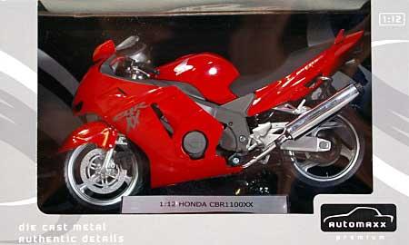 ホンダ CBR1100XX スーパーブラックバード (レッド)完成品(アオシマ1/12 完成品バイクシリーズNo.0079942)商品画像