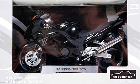 ホンダ CBR1100XX スーパーブラックバード (ブラック)完成品(アオシマ1/12 完成品バイクシリーズNo.0079959)商品画像