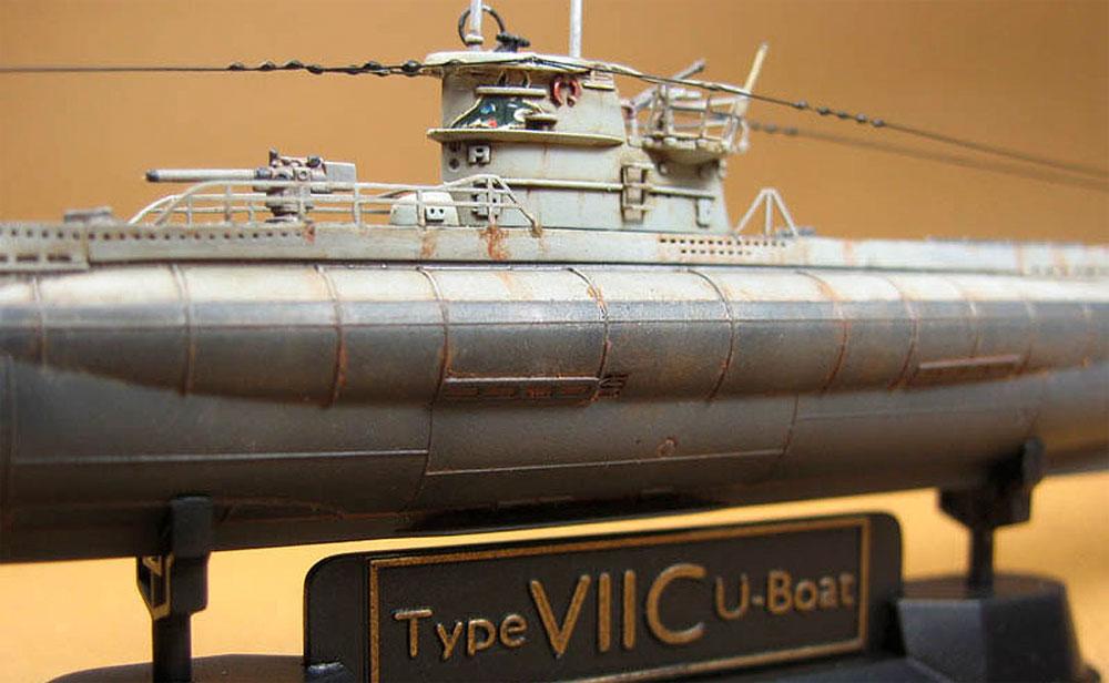 ドイツ海軍 潜水艦 Uボート タイプ 7Cプラモデル(AFV CLUB1/350 潜水艦No.SE73503)商品画像_2
