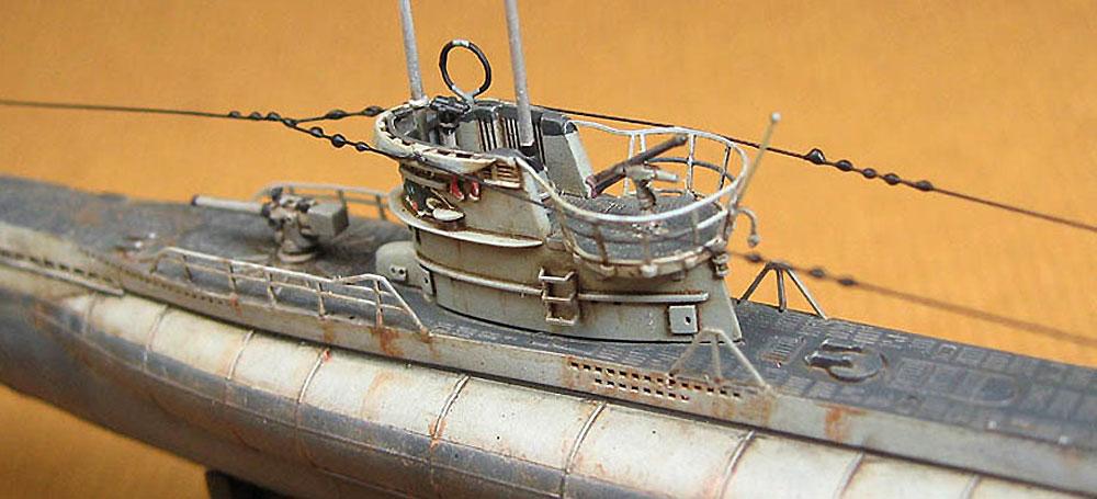 ドイツ海軍 潜水艦 Uボート タイプ 7Cプラモデル(AFV CLUB1/350 潜水艦No.SE73503)商品画像_4