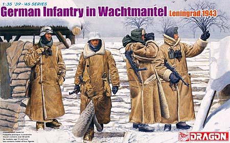 ドイツ冬季装備歩兵 レニングラード 1943プラモデル(ドラゴン1/35