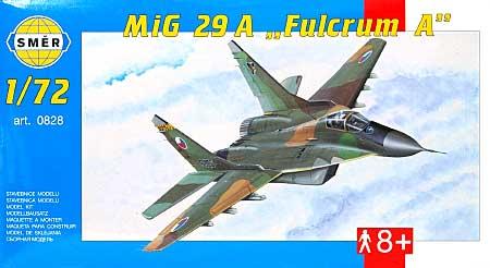 MiG-29A ファルクラム Aプラモデル(スメール1/72 エアクラフト プラモデルNo.0828)商品画像