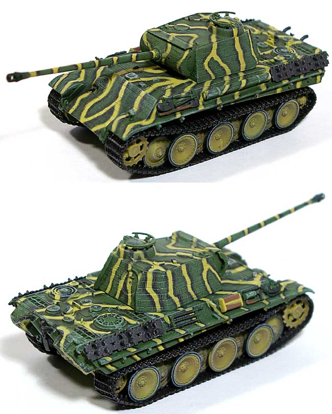 Sd.Kfz.171 パンター G型 w/ツィメリット 第1SS装甲師団 フランス 1944年完成品(サイバーホビー1/72 ドラゴンアーマー バリュープラス (DRAGON ARMOR VALUE +)No.62005)商品画像_1