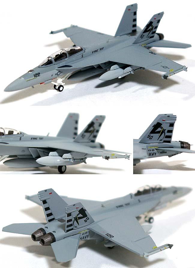 F/A-18F スーパーホーネット VX-23 ソルティドッグス SD122 ラインジェット 2005年 (ロービジ)完成品(ホーガンウイングスM-SERIESNo.6467)商品画像_1