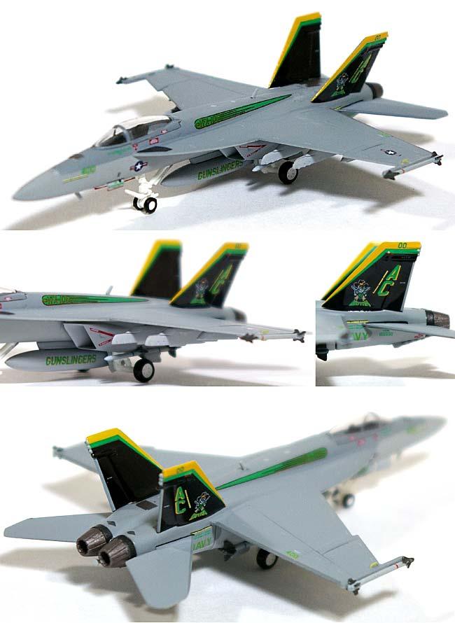 F/A-18E スーパーホーネット VFA-105 ガンスリンガーズ AC400 CAGバード 第3空母航空団 オシアナ基地 (ハイビジ)完成品(ホーガンウイングスM-SERIESNo.6276)商品画像_1