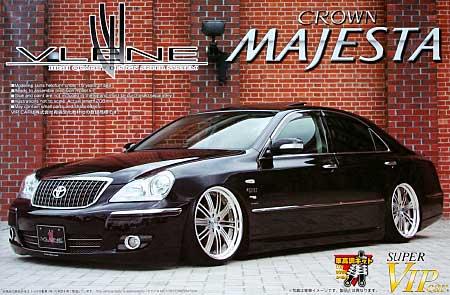 ブレーン ESプレミアム 18 マジェスタ 後期型プラモデル(アオシマ1/24 スーパー VIP カーNo.088)商品画像