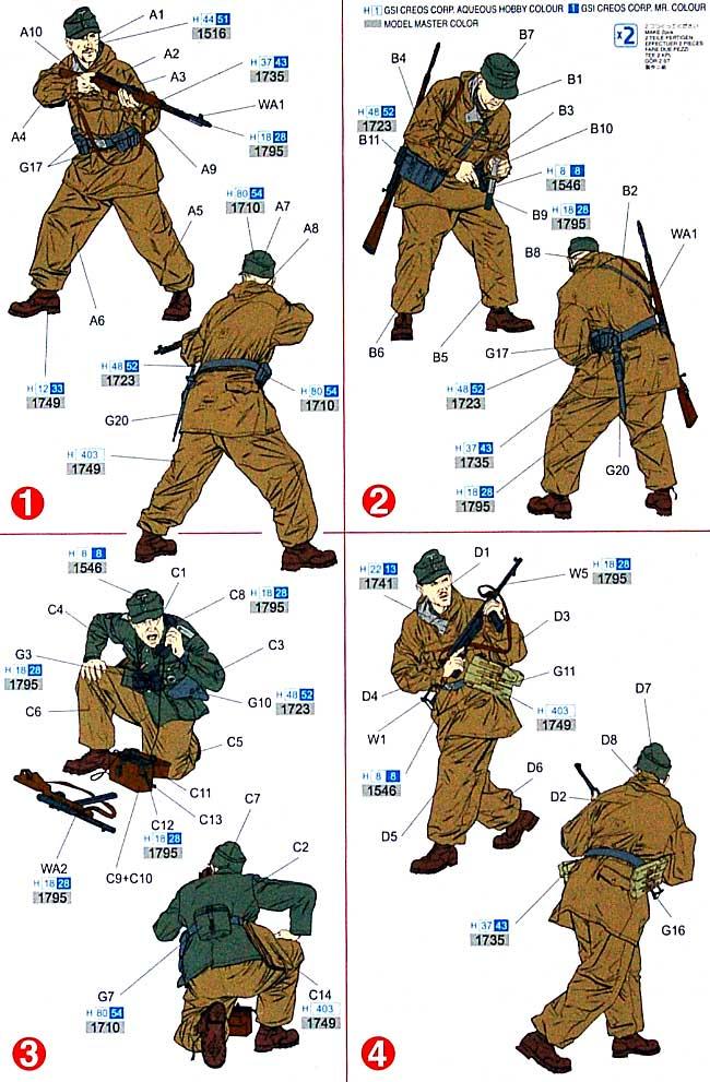 ドイツ山岳兵 グスタフ・ライン防衛戦 1944プラモデル(ドラゴン1/35 39-45 SeriesNo.6517)商品画像_1