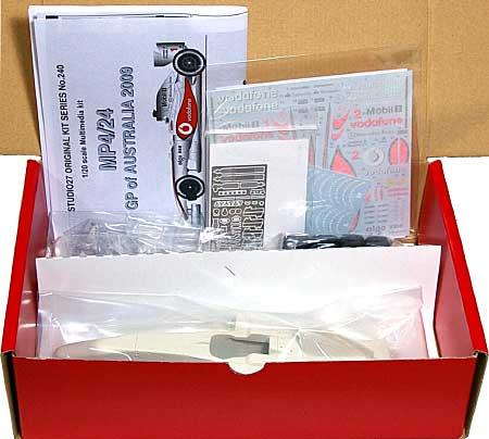 マクラーレン メルセデス MP4/24 オーストラリアGP 2009レジン(スタジオ27F-1 オリジナルキット (スタンダードシリーズ)No.FK20240)商品画像
