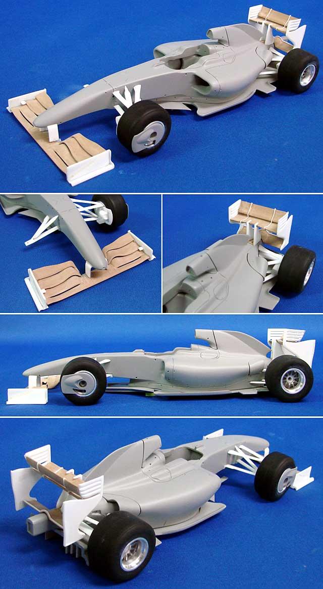 マクラーレン メルセデス MP4/24 オーストラリアGP 2009レジン(スタジオ27F-1 オリジナルキット (スタンダードシリーズ)No.FK20240)商品画像_1