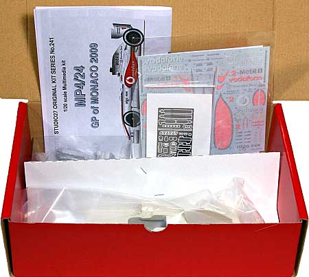 マクラーレン メルセデス MP4/24 モナコGP 2009レジン(スタジオ27F-1 オリジナルキット (スタンダードシリーズ)No.FK20241)商品画像