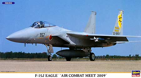 F-15J イーグル 戦技競技会 2009プラモデル(ハセガワ1/72 飛行機 限定生産No.00980)商品画像