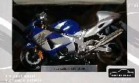 アオシマ1/12 完成品バイクシリーズスズキ GSX1300R ハヤブサ (ブルー)