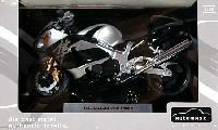 アオシマ1/12 完成品バイクシリーズスズキ GSX1300R ハヤブサ (ブラック)
