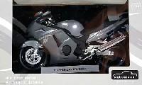 アオシマ1/12 完成品バイクシリーズホンダ CBR1100XX スーパーブラックバード (シルバー)
