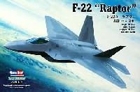 ホビーボス1/72 エアクラフト プラモデルF-22A ラプター