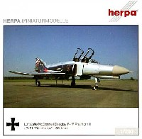 ヘルパherpa Wings (ヘルパ ウイングス)F-4F ファントム2 ドイツ空軍 第71戦闘航空団 創設50周年記念 リヒトフォーフェン
