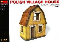 ミニアート1/35 ビルディング&アクセサリー シリーズポーランドの村の家