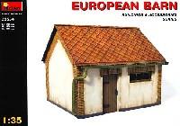ミニアート1/35 ビルディング&アクセサリー シリーズヨーロッパの納屋
