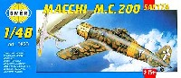 スメール1/48 エアクラフト プラモデルマッキ M.C.200 サエッタ戦闘機