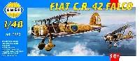 スメール1/48 エアクラフト プラモデルフィアット C.R.42 ファルコ 複葉戦闘機
