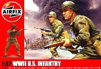 エアフィックス1/32 ミリタリーアメリカ軍歩兵セット