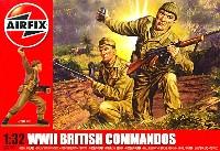 エアフィックス1/32 ミリタリーイギリス軍 コマンド兵セット