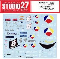 スタジオ27バイク オリジナルデカールヤマハ YZR500 ANTENA3 WGP 2000