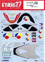 スタジオ27バイク オリジナルデカールヤマハ YZR500 ANTENA3 WGP 2001