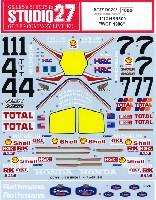 スタジオ27バイク オリジナルデカールホンダ NSR500 WGP 1986 デカール