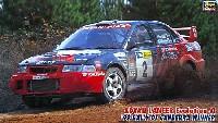 ハセガワ1/24 自動車 CRシリーズアドバン ランサー エボリューション 4 1999 ラリー オブ キャンベラ ウィナー