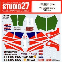 スタジオ27バイク オリジナルデカールホンダ NSR 250 HRC 1991 T.OKADA