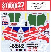 スタジオ27バイク オリジナルデカールホンダ NSR 250 WGP 1991 M.SHIMIZU
