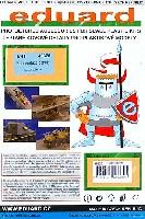 エデュアルド1/48 エアクラフト用 エッチング (48-×)F-22 ラプター用 機体補強パネル