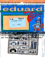 エデュアルド1/48 エアクラフト カラーエッチング ズーム (FE-×)F-105G サンダーチーフ用 計器盤 (接着剤付)