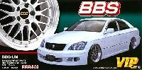 アオシマ1/24 VIPカー パーツシリーズBBS-LM (20インチ)